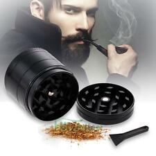 Mini Herb Grinder 4 Layers Metal Tobacco Crusher Hand Muller Smoke Herbal Black