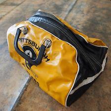 Vintage 1970's NFL Pittsburgh Steelers Football Gym Tote Carrying Vinyl Bag