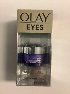 Olay Regenerist Retinol24 Max Night Eye Cream 0.5 fl oz. Free Shipping.