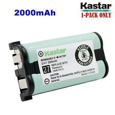 Kastar HHR-P513 Cordless Phone Battery 2.4V 2000mAh for Type 27, NI-MH