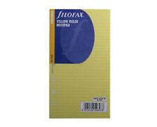 Personale Filofax ricarica 100 Fogli Blocco Note ha dichiarato