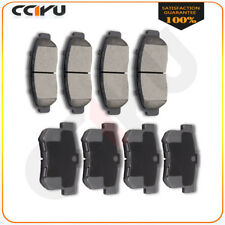 Front And Rear Performance Posi Ceramic Discs Brake Pads Kit For Acura TL CL RL