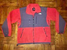 North Face Men's Red Denali Fleece Zip-Up Jacket Sz Medium - m l ski bubble down