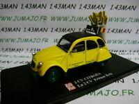 2CVAP10F voiture 1/43 ELIGOR Autoplus CITROËN 2CV n°31 : Frituur Kris