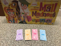 Mall Madness Milton Bradley Game Replacement play money for game 2004