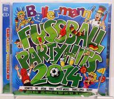 Ballermann Fußball Party Hits + 2 CD Set + 40 Fetenhits mit Stimmungsgarantie +