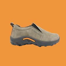 MERRELL Jungle Moc Boys Slip-On Hiking Shoes in Gunsmoke Size 7 NEW