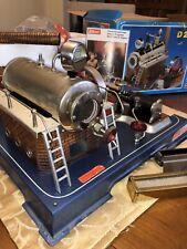 WILESCO DAMPFMASCHINE D 20 GERMANY STEAM ENGINE MODEL