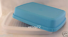 TUPPERWARE SEASON SERVE JUNIOR MARINADER SALTWATER TAFFY BLUE & SNOW WHITE NEW