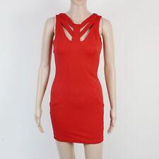 Miss Selfridge Womens Size 8 Petites Bright Red Dress