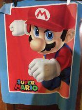 Mario Cart Huge Cotton Fabric Panel