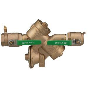 Zurn Wilkins 2inch 975XL2 Backflow Preventer Lead Free