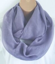 New For Spring & Summer Pale Lilac Circle Loop Scarf Infinity Snood