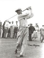 BEN HOGAN 8X10 PHOTO GOLF PICTURE PGA