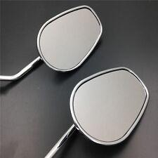 New Chrome Rearview Mirrors For Harly Davidson Touring FLHR FLTR FLHX FLH 8mm