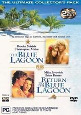 Blue Lagoon Double Pack (DVD, 2003, 2-Disc Set)