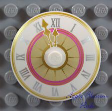 NEW Lego Minifig TOWN HALL CLOCK w/Hands 4x4 Friends Minifigure Radar Dish 41055