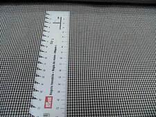 VICHY CUADRICULADO tela de algodón marrón/blanco aprox. 150cm de ancho