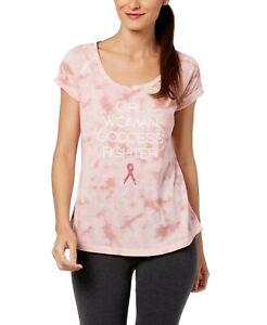Ideology Women's BCRF Short Sleeve Graphic T-Shirt - Breast Cancer Awareness