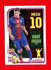 FC BARCELONA 2012-2013 Panini - Figurina-Sticker n. 162 - MESSI -New