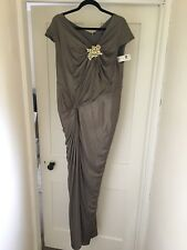 BNWT Plus Size Tadashi Shoji Evening Dress US1x/UK 18/20
