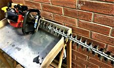 B&Q Homelite Hedge Trimmer HHT2660 2 Stroke Petrol  70cm Double Blades- Working