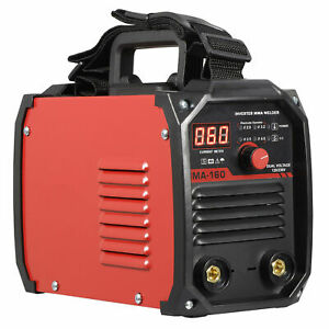 110V 220V DC Inverter Welder Mini Handheld Arc Welding Machine MMA 60-160A IGBT