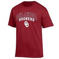 University of Oklahoma Sooners NCAA T shirt made by Champion, Cardinal