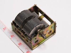 FromEU* 2 Section Air Variable Tuning Capacitor 24-990 pF tube AM radio RARE