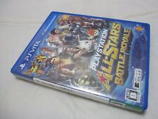 7-14 Days to USA. Vita ​​PlayStation All-Stars Battle Royale Japanese Version