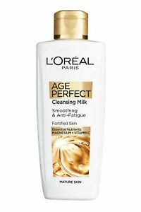 L'Oreal Age Perfect Cleansing Milk 200ml for Mature Skin