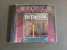THE TEMPTATIONS MOTOWN COMPACT CLASSIC CD MY GIRL, AIN'T TOO PROUD TO BEG