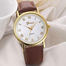 Montre Quartz Genève Pour Femme Chic Classique Watch PROMO