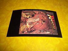 1981 vintage RAIDERS OF THE LOST ARK postcard-VHS movie PROMO-indiana jones