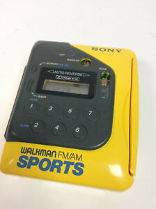 Vintage Sony Sports Audio Cassette Walkman (WM-F2078)  - Free UK Postage