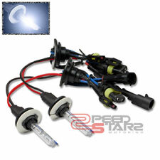 8000K BRIGHT WHITE HID XENON 35W REPLACEMENT H1 BULBS LOW BEAM HEADLIGHTS