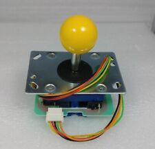 Japan Seimitsu Yellow Joystick With 5 Pin Hanress Arcade Parts LS-32-10