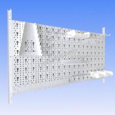 11300-00011= Werkzeugwand 23 teilig Lochwand 800x400mm weiß Haken Werkstattwand