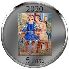 Griechenland - 5 Euro 2020 - Theophilos - 150. Geburtstag - 17 gr Silber PL