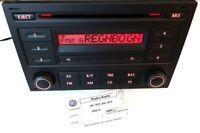 VW RCD 200 MP3 Passat 3B 3BG T4 Golf 4 Radio  mit Code Karte VWZ1Z5 5Z0035152