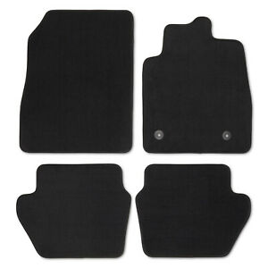 For Ford Fiesta 2017+ Tailored Car floor Mats for set of 4 Pieces, black