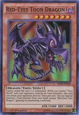 3x (M/NM) Red-Eyes Toon Dragon - SHVI-EN036 - Super Rare - 1st Edition  YuGiOh