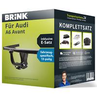 Anhängerkupplung BRINK starr für AUDI A6 Avant +E-Satz kpl.