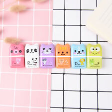 1Pc Cute Rolling Eraser Cartoon Roller Erasers Children School Stationery GD