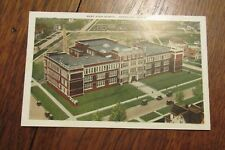 a183 vintage postcard West High School Waterloo IA Iowa 1931