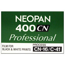 Fuji Neopan 400CN Professional Black & White Film 36exp - (C41 Process)