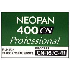 Fuji Neopan 400CN Professional Black & White Film 36exp-processo (C41)
