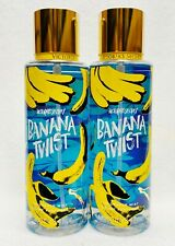 2 Victoria's Secret BANANA TWIST Fragrance Mist Body Spray Perfume