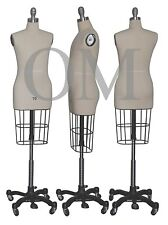 Professional Child Mannequin Dress Form, W/ Heavy Rolling Base, 10 Years (ncs 70