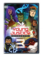 Young Justice Outsiders Season 3 Series Three Third (jesse Mccartney) DVD